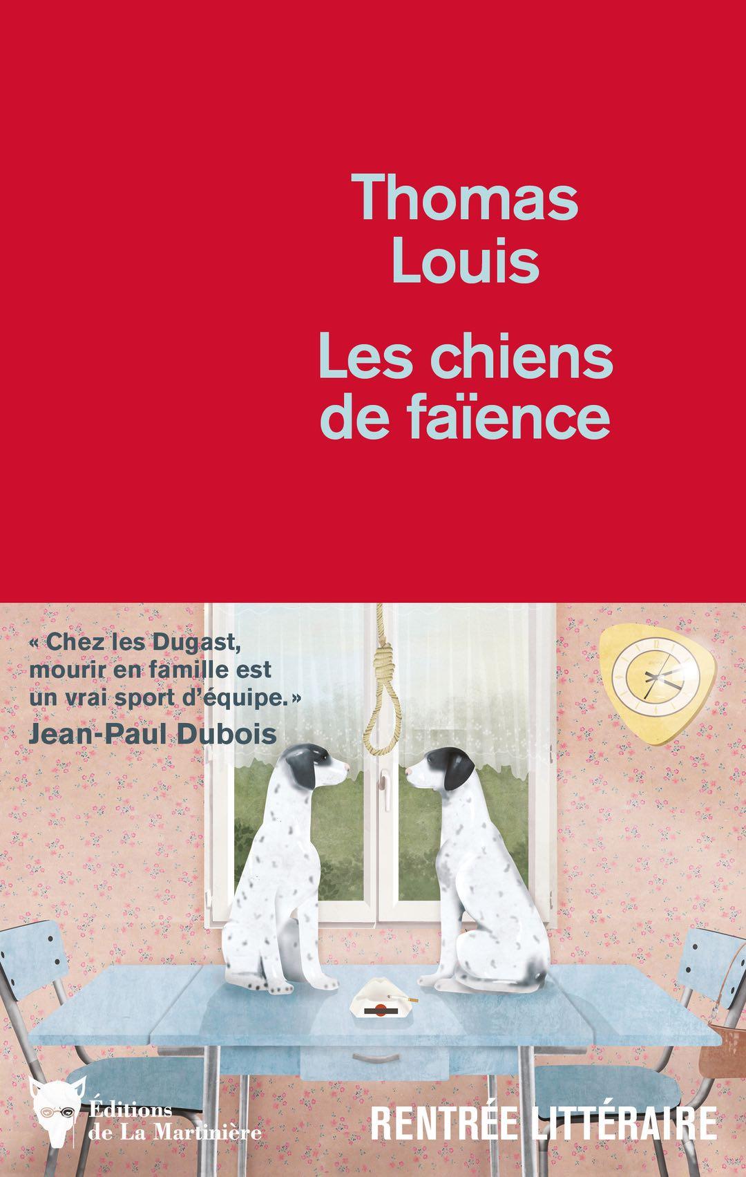 couverture du livre de thomas louis