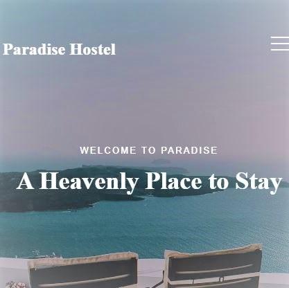 Hostel Web Design