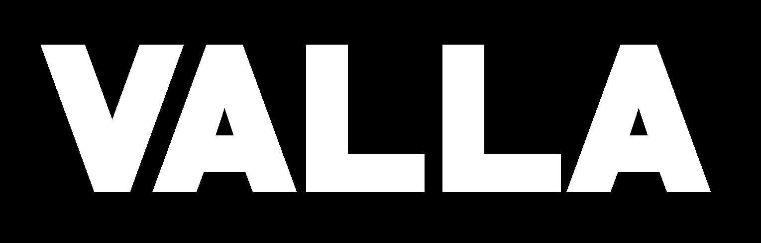 The Valla logo