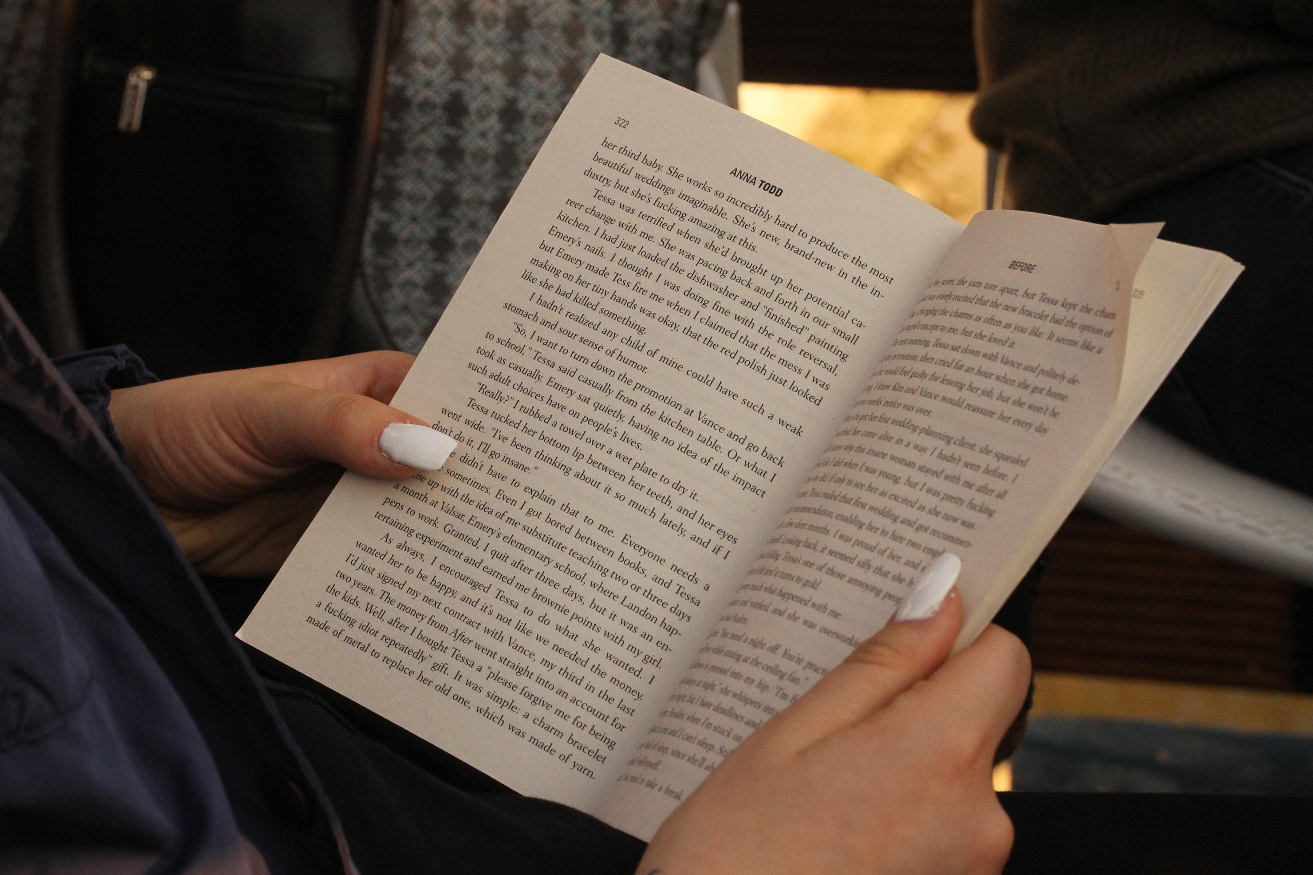 open book to describe wise
