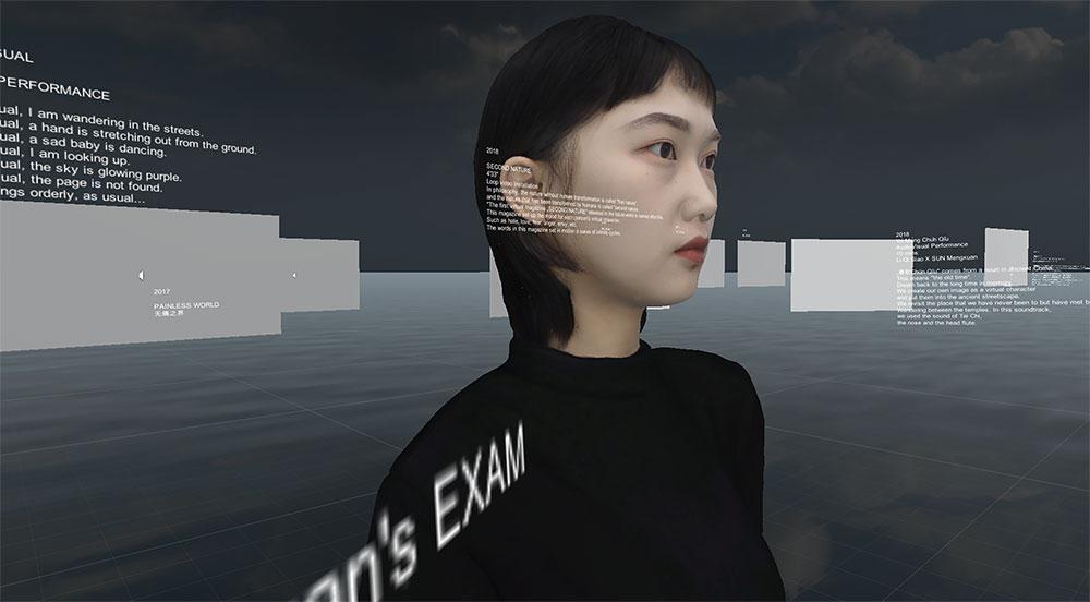 Selbstportrait von MengXuan Sun