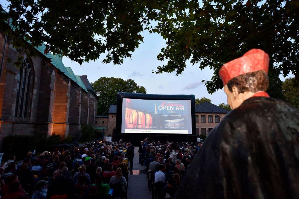 Lichtburg Open Air am Dom