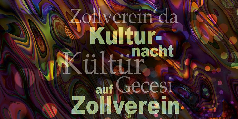 Kulturnacht auf Zollverein: Konzerte, Poetry Slam, Lesungen, Tanz und Street Art