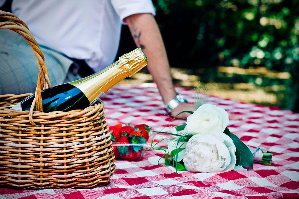 Picknick mit royalen Flair im Schlosspark Borbeck