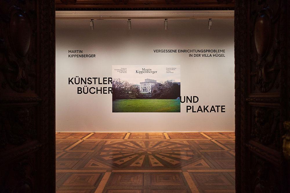 Kippenberger-Ausstellung in der Villa Hügel