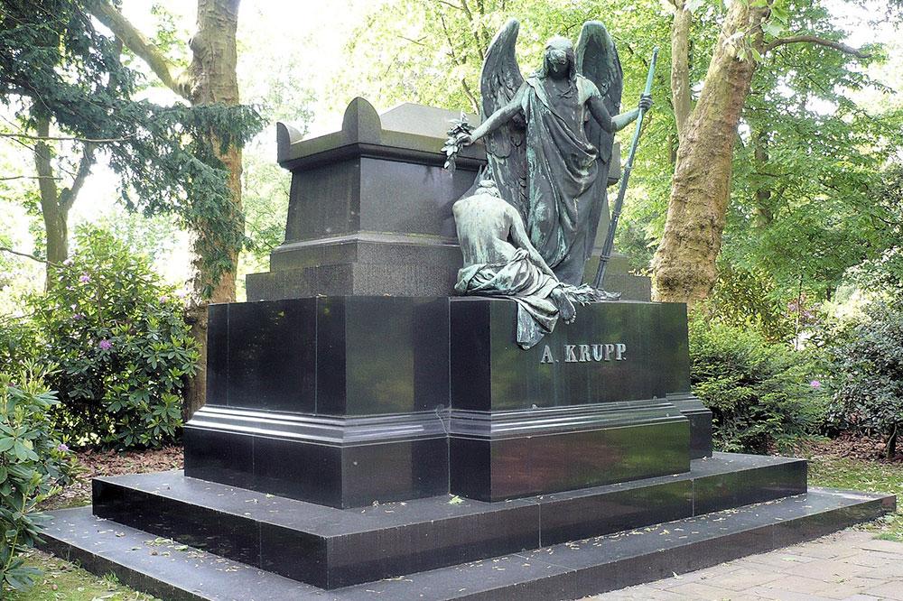 Über den Friedhof Bredeney spazieren