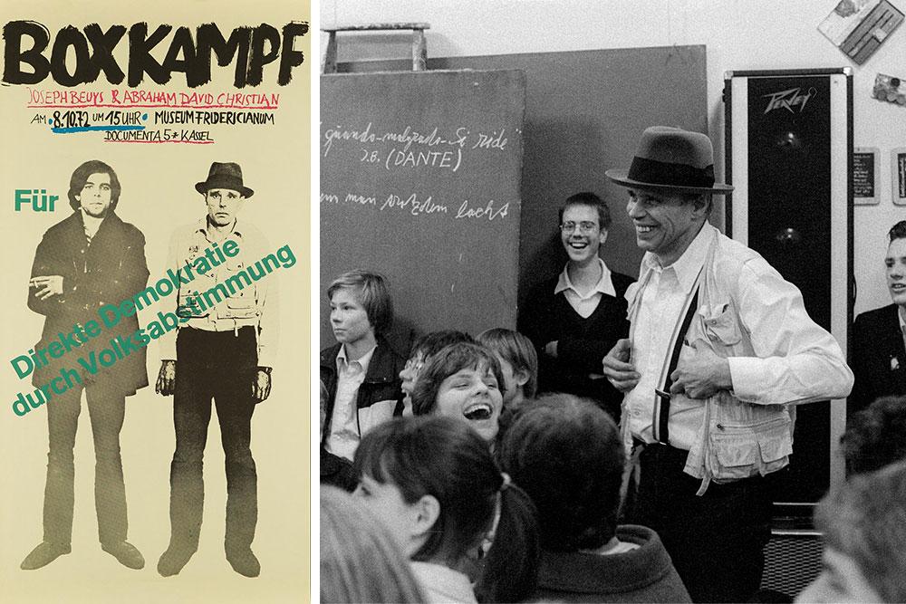 Die Unsichtbare Skulptur: Beuys-Ausstellung auf Zollverein