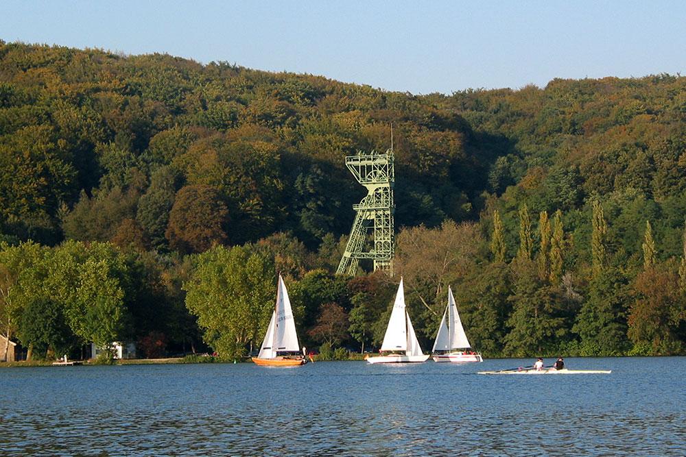 Von Dellwig-Ost nach Kettwig entlang der Ruhr zum Baldeneysee