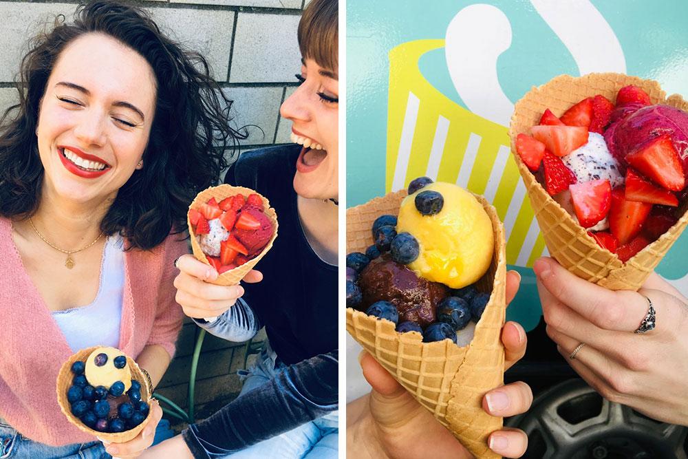 Sorelli's: Frozen Yogurt & Eis aus besten Zutaten