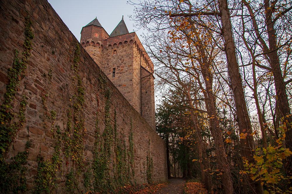 Am Schloss Landsberg flanieren @ offguide