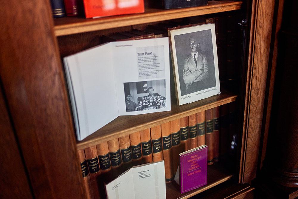 Historische Bibliothek in der Villa Hügel