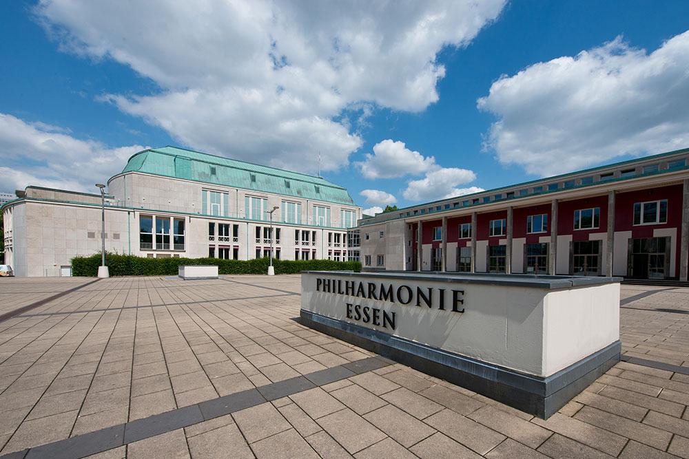 Philharmonie Essen Mit Sicherheit Kultur verschenken