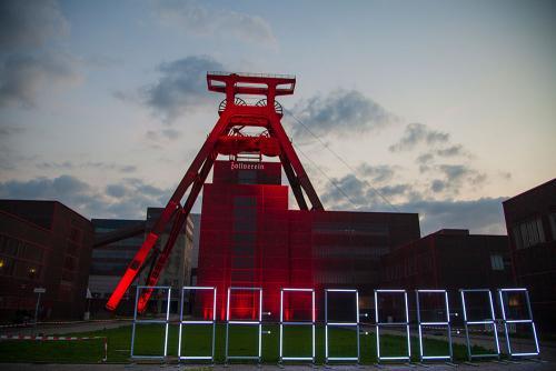 Night of Light Zeche Zollverein ©offguide