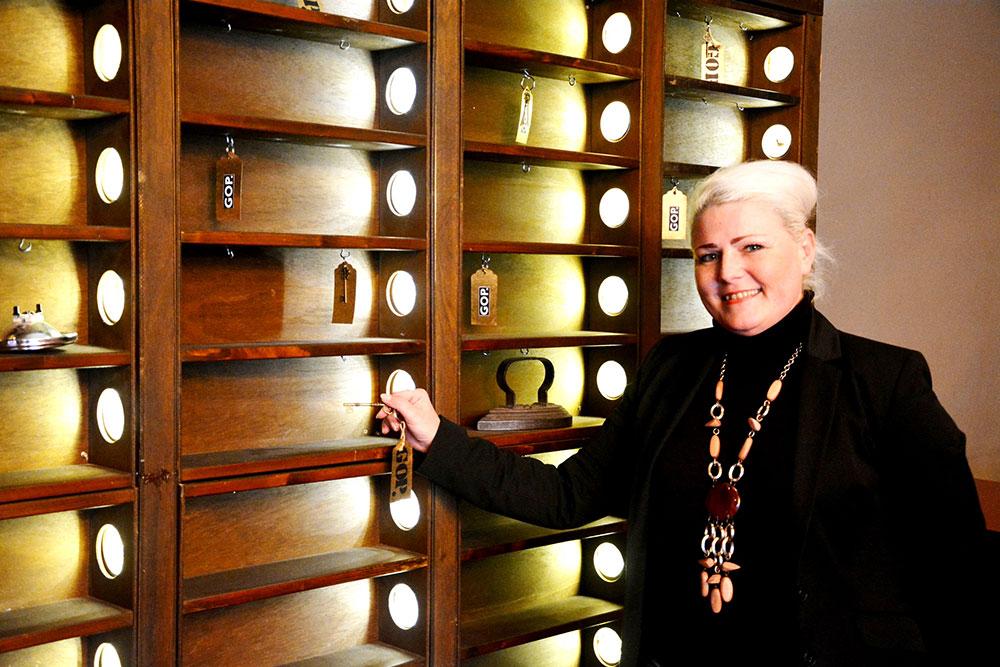 Nadine Stöckmann ist neue Direktorin des Essener GOP Varieté-Theaters.