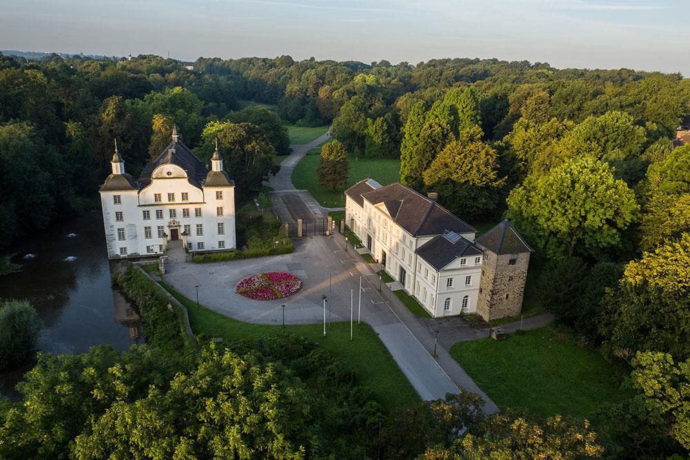 Schöne Schlösser und Burgen in Essen Schloss Borbeck