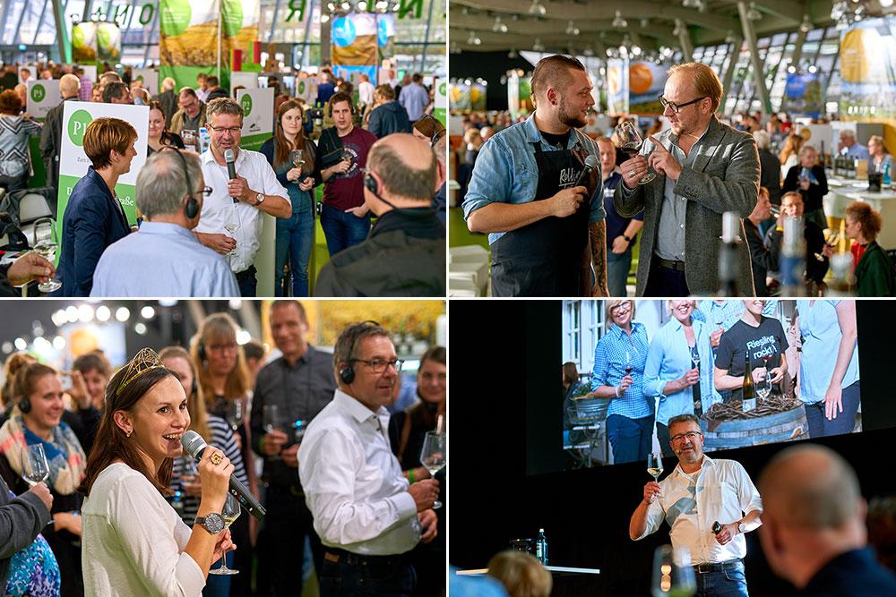 Wein- und Kochshow mit Mastersommelier Hendrik Thoma und TV-Geschmacksjäger Moritz Crone-Rawe