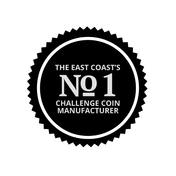 The East Coast's Number 1 Challenge Coin Manufacturer