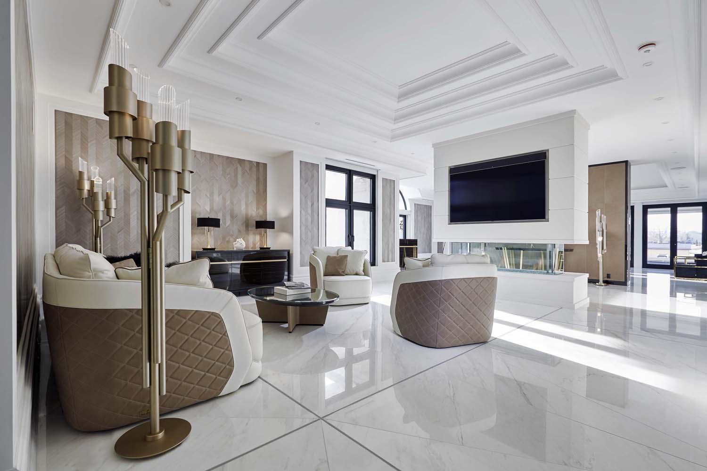 Basal custom designed living room