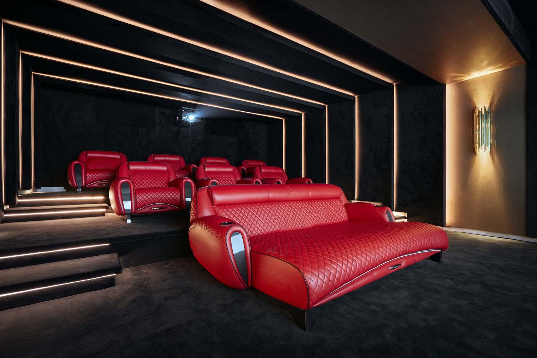 Basal master design media room