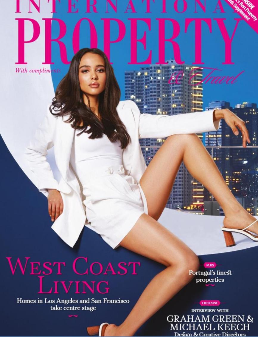 international Property Magazine Cover