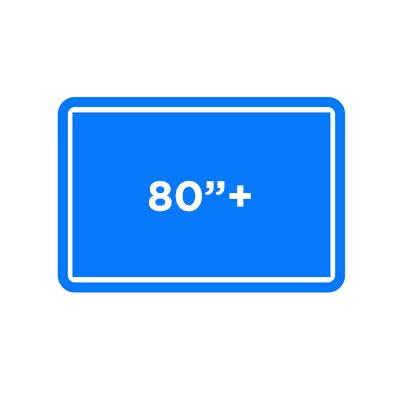 "80""+ TV Icon"