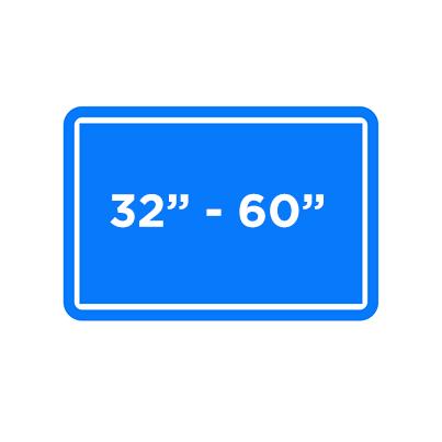 "32""-60"" TV Icon"