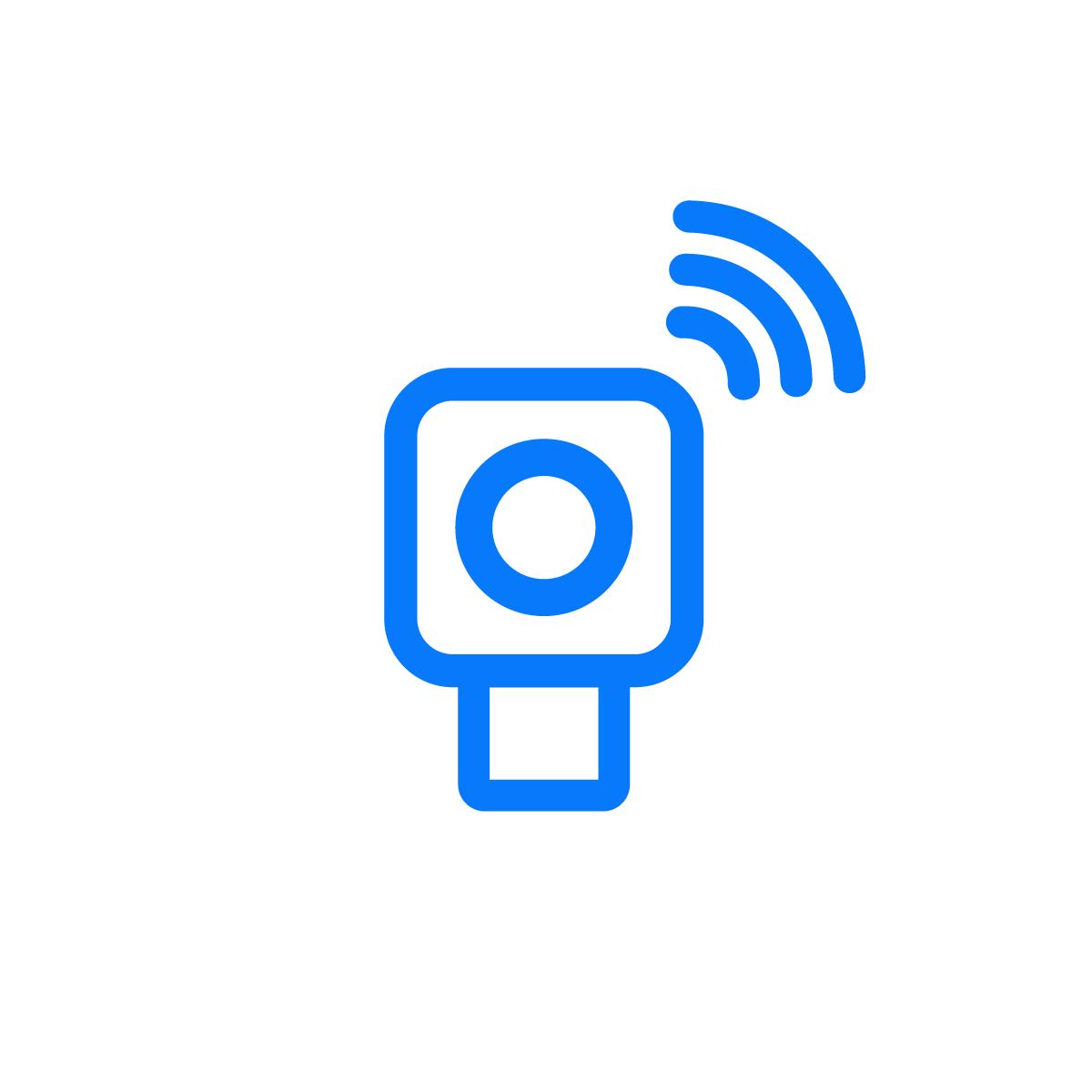Wi-Fi Based Camera Icon
