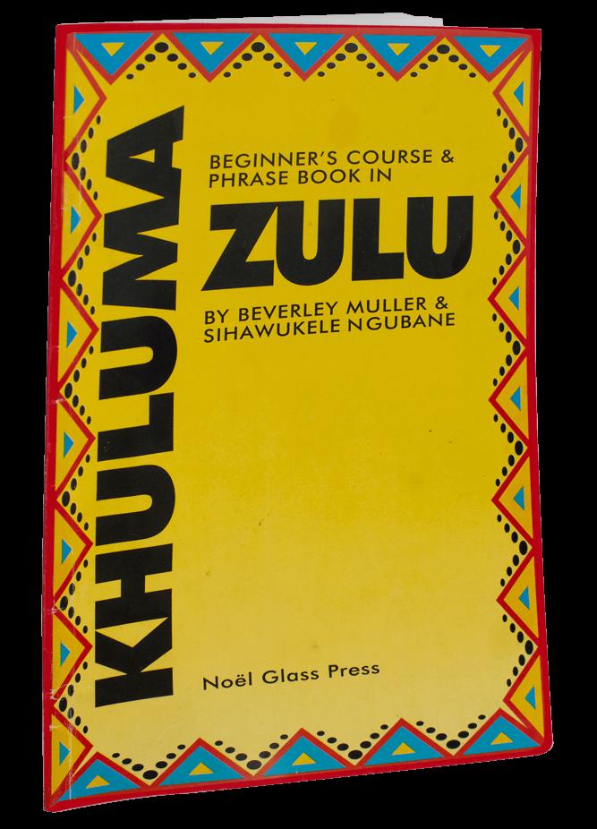 Beginner's course & phrase book in Zulu