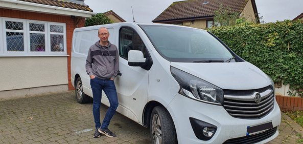 Case study: How Julian turned his unused van into a valuable income stream