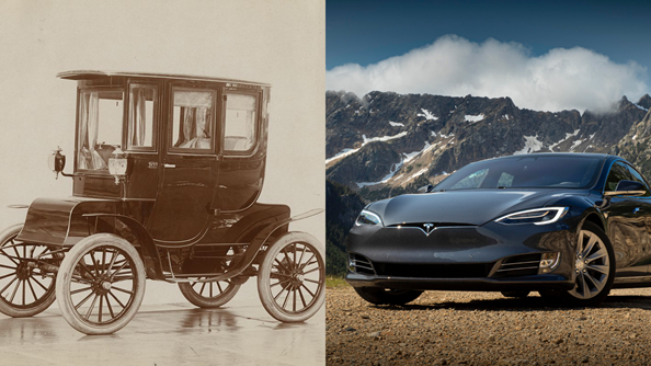 A bite-sized history of the electric car
