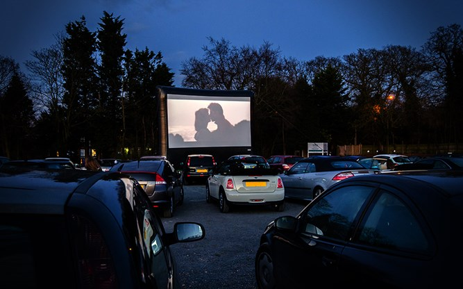 The best drive-in events in and around Bristol this spring