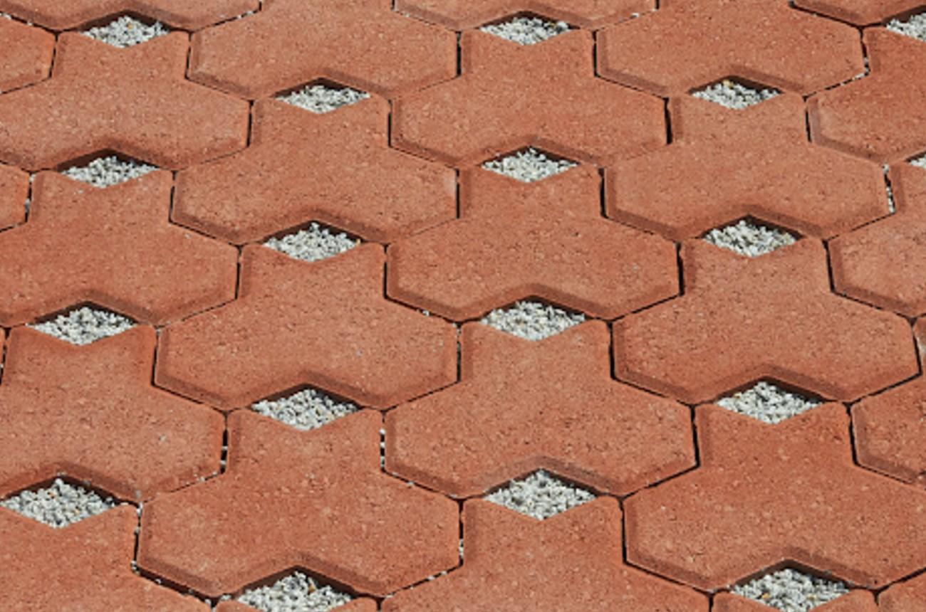 Midland Brick Aqua Tri Pave