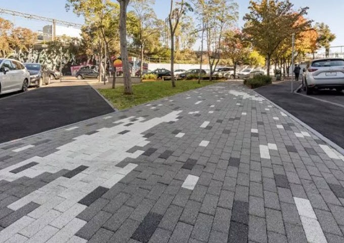 What's the difference between porous, permeable, and pervious surfaces?