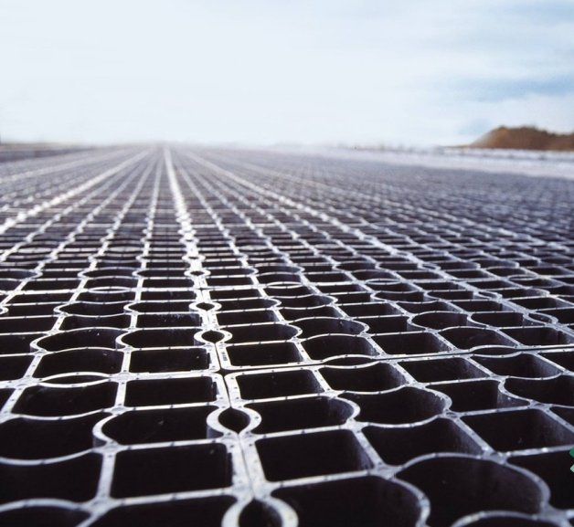 What is a permeable walkway?
