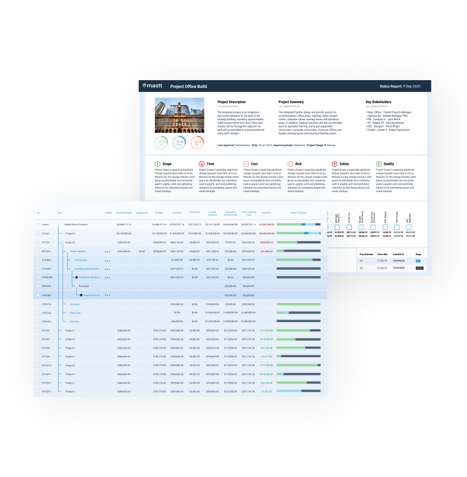 Project Management in Action: Real-Time Automated Reporting for Capital Program & Portfolio Management