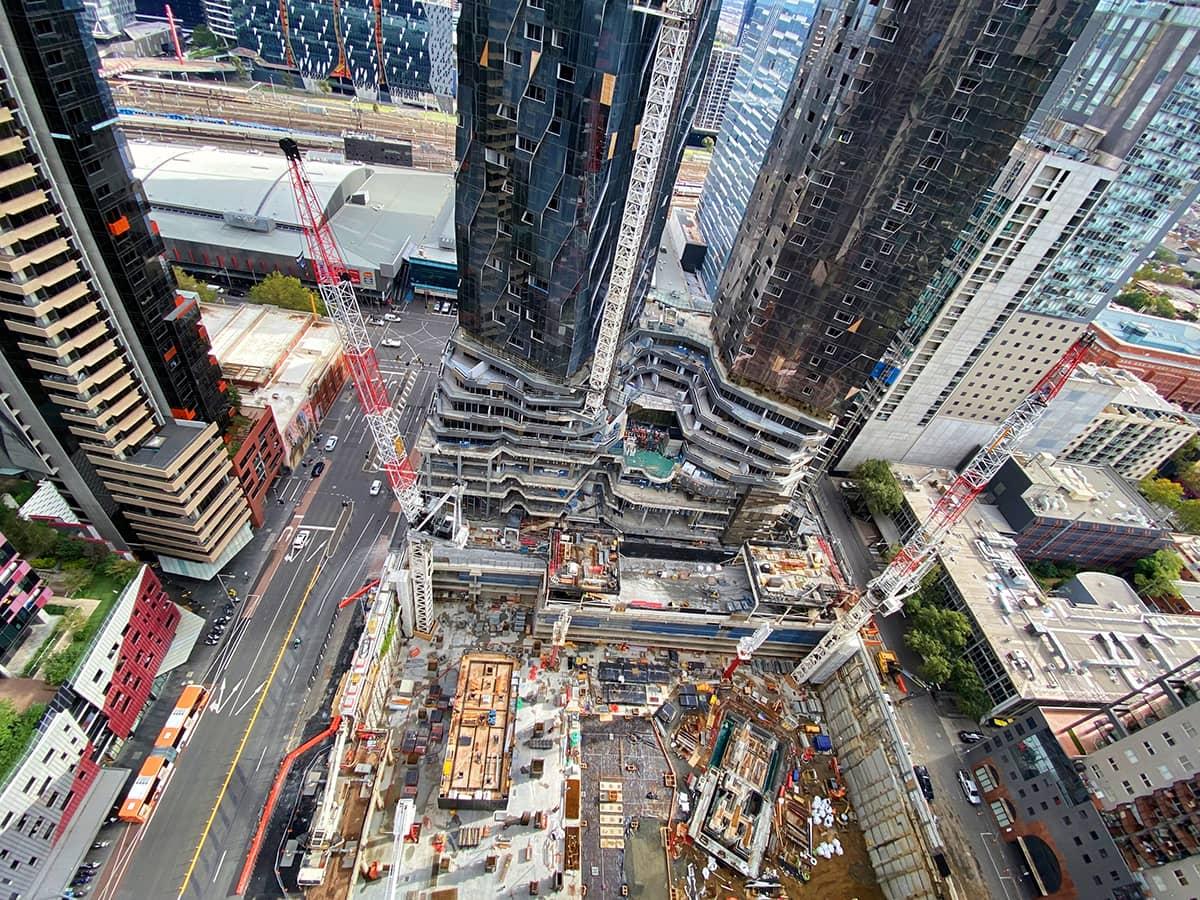 Skyscraper building image
