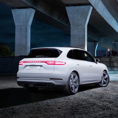 Porsche Cayenne E Campaign Project Tile Image
