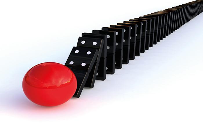 red dominoes - graphene radiator image