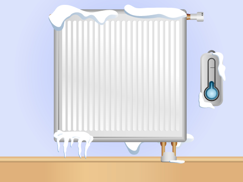 No need for bulky cumbersome radiators