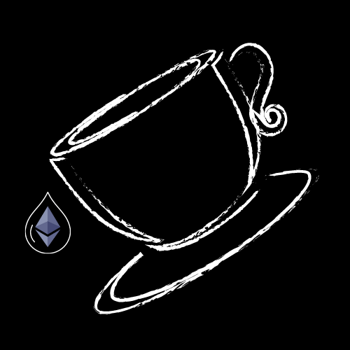 The original NFTEA, a cup filled with tea of ether.