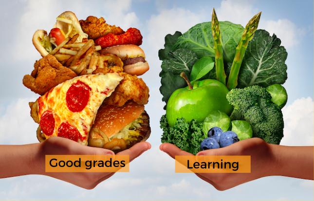 Grades are like fast food