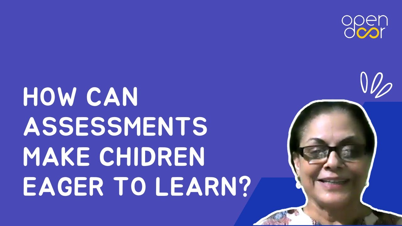 How is this school improving its teachers using Open Door's assessments?