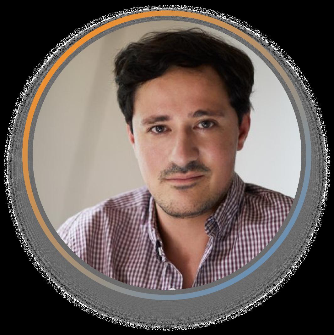 Portrait du journaliste Grégory Raymond, créateur de la newsletter crypto 21 Millions
