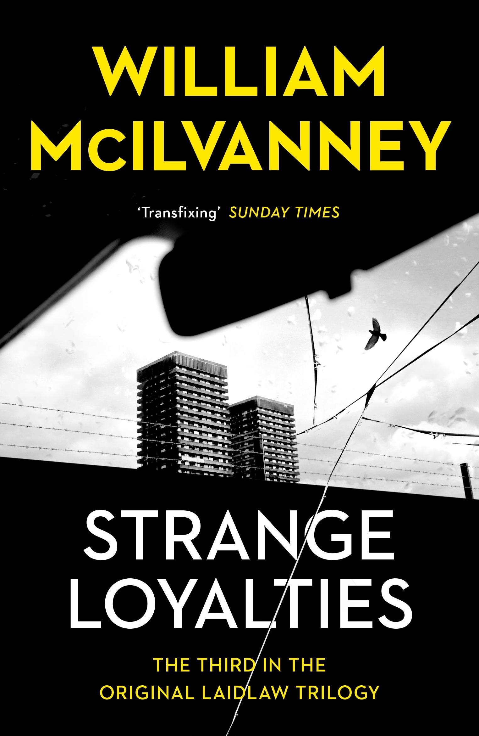 Strange Loyalties by William McIlvanney paperback cover