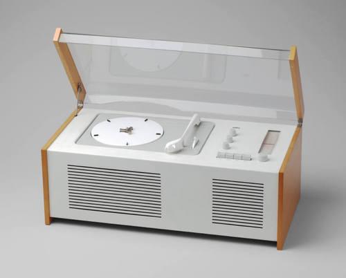 Combinación de Radio y Tocadiscos SK 4 Phonosuper - 1.800 Productos Braun  diseñados por Dieter Rams y su equipo
