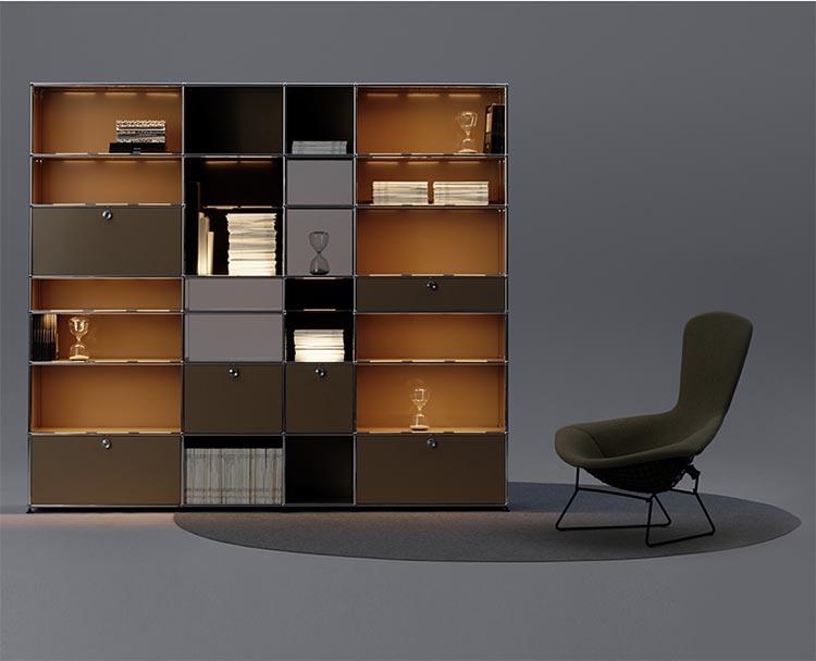 Historia de USM. Un clásico del diseño minimalista