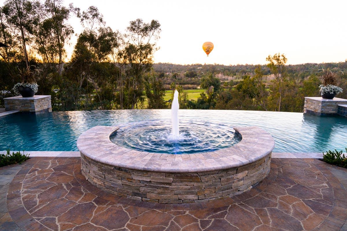 Telescoping Fountain