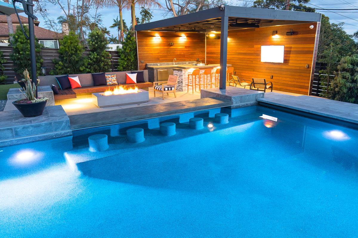 Swim Up Bar , In Pool Stools