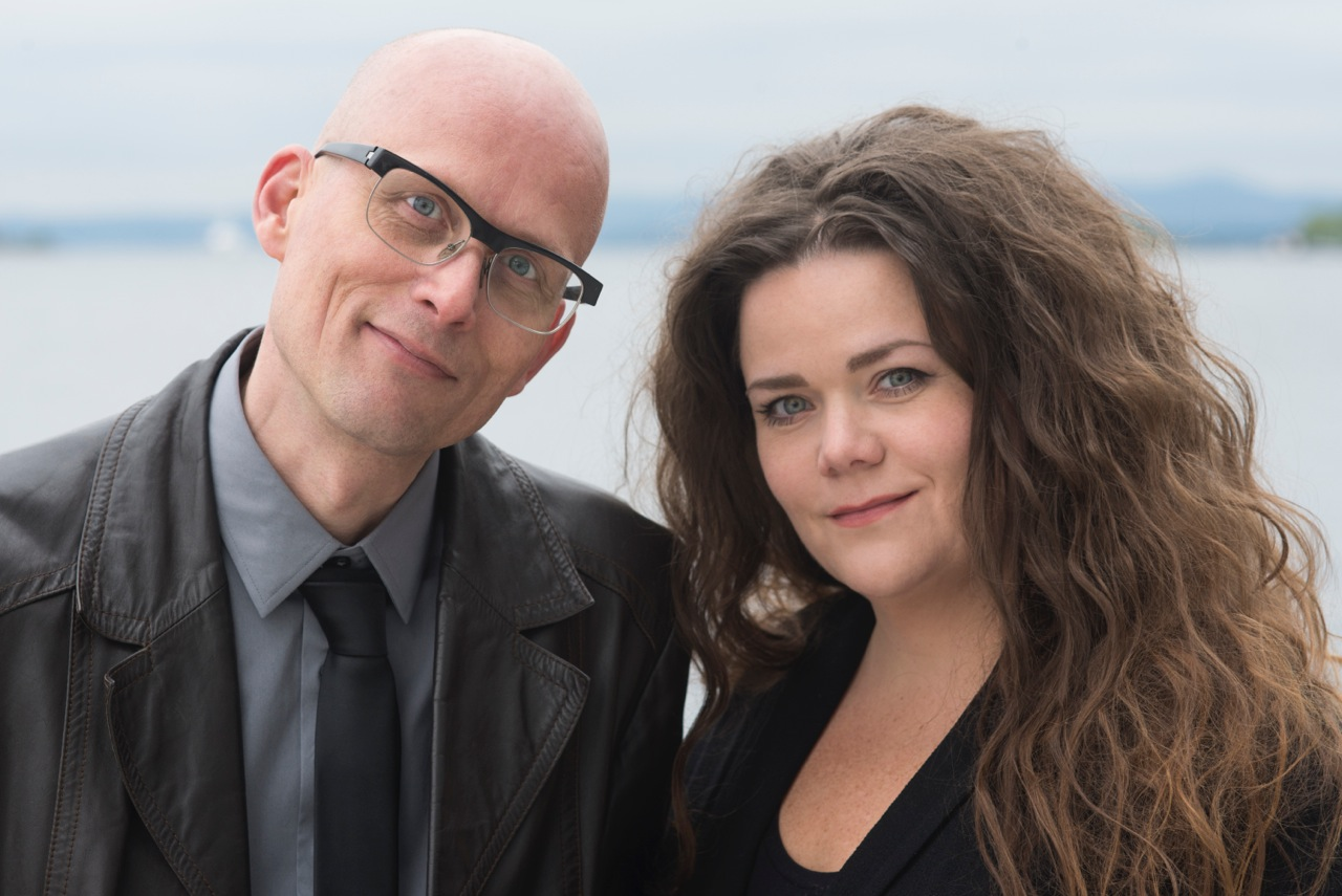 Programlederne Erik Aasheim og Nina Stensrud Martin