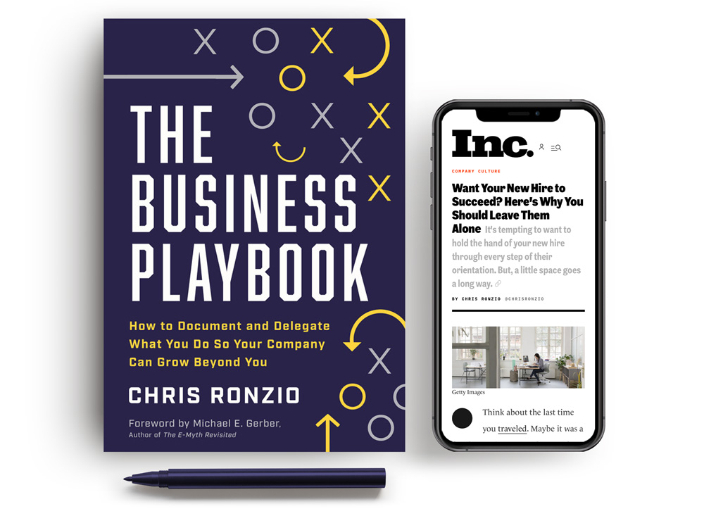 The Business Playbook and Inc. magazine column.